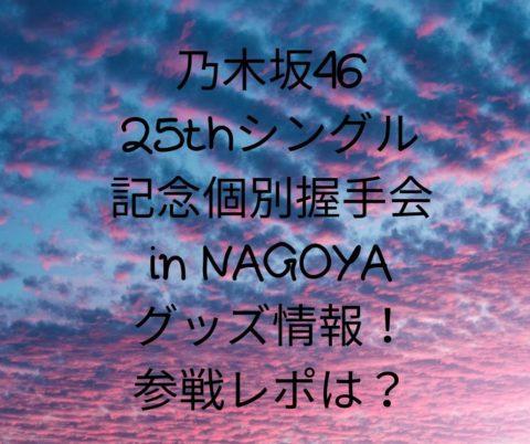 乃木坂46握手会2020名古屋!グッズ情報や販売時間をネタバレ!参戦感レポは?